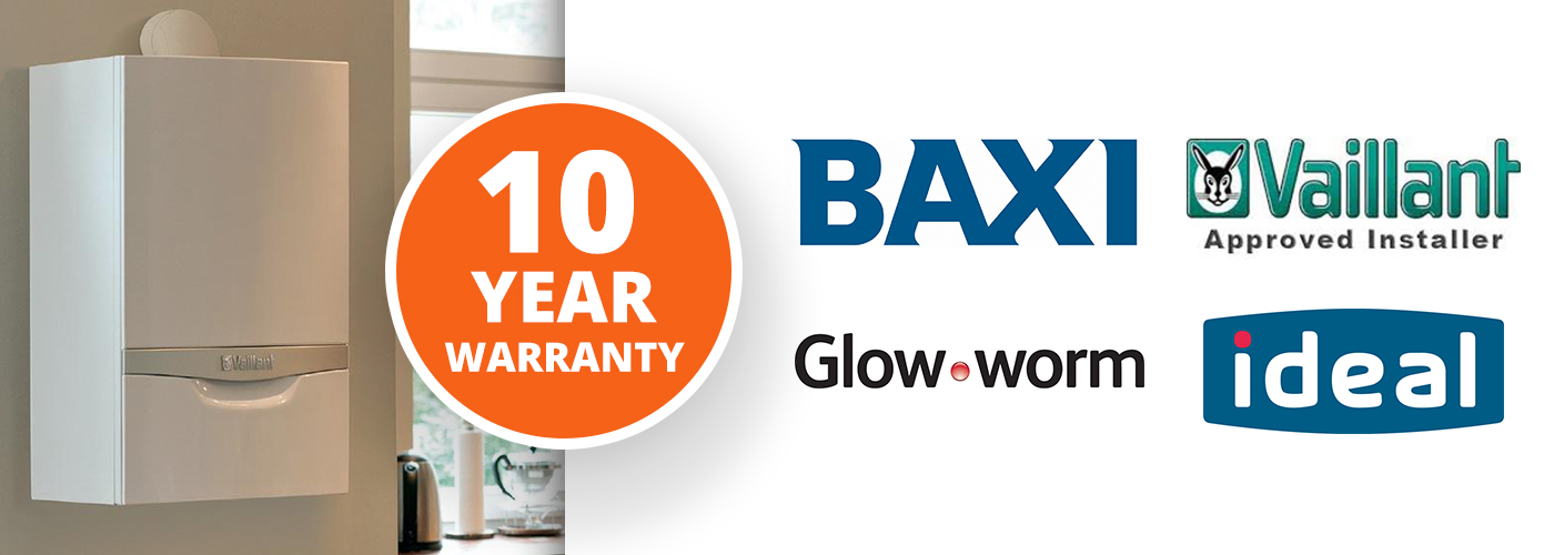 New Boilers With 10 Year Warranty